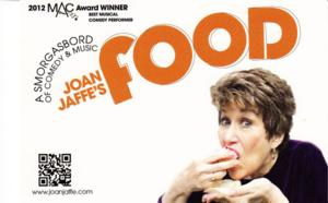 Dorothy Strelsin Theatre Presents Comedy JOAN JAFFE'S FOOD for One Night Only, 2/16
