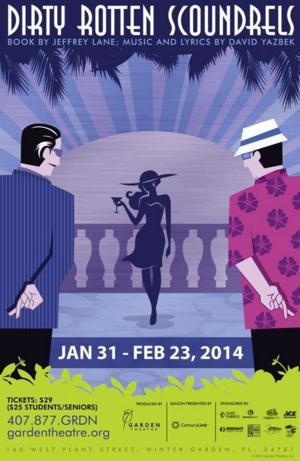 Julia Gagne to Direct DIRTY ROTTEN SCOUNDRELS at Garden Theatre, 1/31-2/23