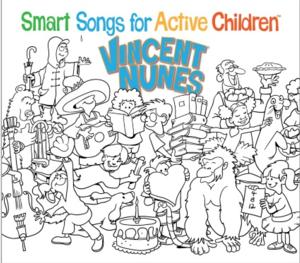 Vincent Nunes Releases 'Smart Songs for Active Children'