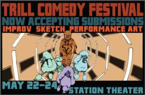 Station Theater Kicks Off 2014 Trill Comedy Festival Today