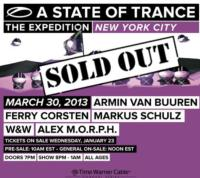 Armin van Buuren's A State of Trance: New York City Show at Madison Square Garden Sold Out