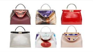 Paltrow and Delevigne Design Bags for Fendi