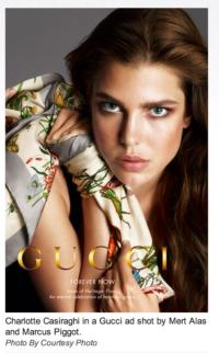Charlotte Casiraghi is the Face of Gucci's 'Forever Now' Campaign