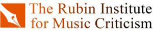San Francisco Conservatory of Music to Host Rubin Institute for Music Criticism, 11/5-10