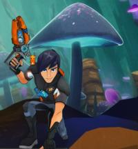 Disney XD Premieres Animated Sci-Fi Series SLUGTERRA TODAY, 10/15