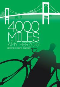 Hangar Theatre to Present Amy Herzog's 4000 MILES, Begin. 7/25