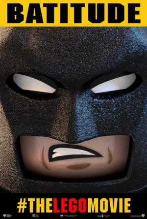 FIRST LOOK - Will Arnett's 'Batman' Featured in New LEGO MOVIE Poster
