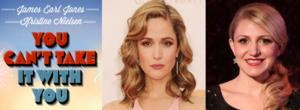 Rose Byrne, Annaleigh Ashford & More Join Broadway-Bound YOU CAN'T TAKE IT WITH YOU!