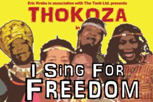 I SING FOR FREEDOM Returns to Jackie Onassis Theatre on 1/26