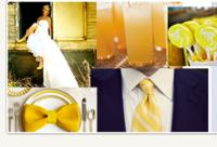 Bows-N-Ties Change With The Popular Seasonal Wedding Hues