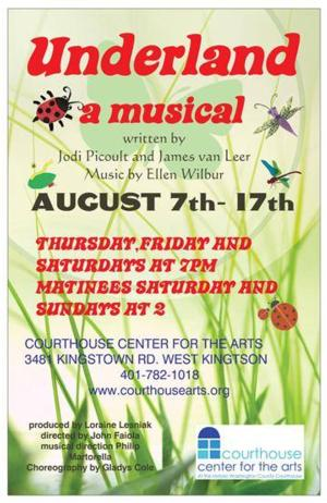 The Courthouse Center for the Arts Presents UNDERLAND, 8/7-17