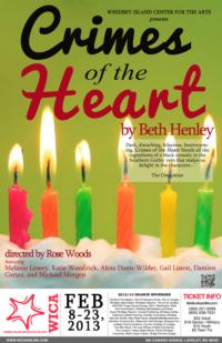 CRIMES OF THE HEART to Open at Whidbey Island Center for the Arts, 2/8-23