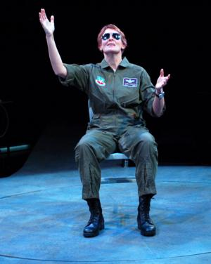 BWW Reviews: Fighter Pilot to be GROUNDED Opens at the Unicorn Theatre in Kansas City