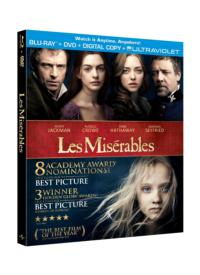 Universal Studios Home Entertainment to Release LES MISERABLES on Blu-ray/DVD, 3/22