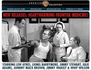 DR. KILDARE Among Warner Archive's New Releases
