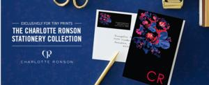 Charlotte Ronson Debuts Tiny Prints Stationery Collection