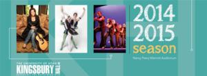 STEP AFRIKA!, The Second City, ONCE, David Sedaris and More Set for Kingsbury Hall Presents' 2014-15 Season