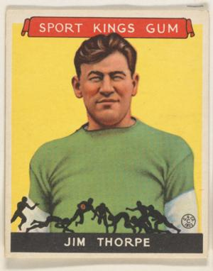 The Met Museum Presents GRIDIRON GREATS: VINTAGE FOOTBALL CARDS IN THE COLLECTION OF JEFFERSON R. BURDICK, 1/24-2/10