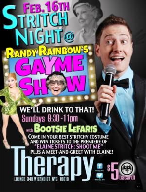 Randy Rainbow's GAYME SHOW to Celebrate 'Stritch Night' at Therapy, 2/16