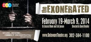 THE EXONERATED to Run 2/19-3/9 at Delaware Theatre Company