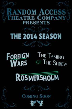 Random Access Theatre to Present Henrik Ibsen's ROSMERSHOLM, 9/4-14