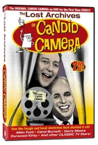 THE LOST ARCHIVES OF CANDID CAMERA Coming to WAL-MART, 3/12