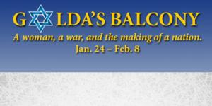 Le Petit Theatre Adds 2/9 Performance of GOLDA'S BALCONY
