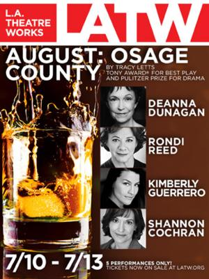 Deanna Dunagan, Rondi Reed and Original Cast of AUGUST: OSAGE COUNTY to Reunite for L.A. Theatre Works Recording, 7/10-13
