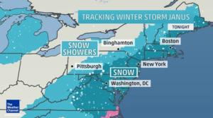 Winter Storm Janus Update: All Broadway Shows On for Tuesday