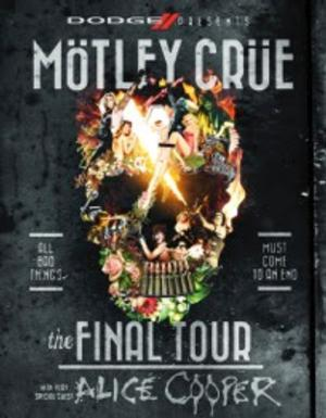 Motley Crue to Play Final Detroit Show Ever at Joe Louis Arena, 11/8