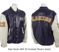 Julien's Auctions Announces Property from the Collection of Elgin Baylor