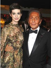 Anne Hathaway Will Wed in Valentino