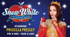 Priscilla Presley to Star in SNOW WHITE AND THE SEVEN DWARFS at Manchester Opera House, Dec 5