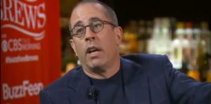 Jerry Seinfield Agitated by Race Question During Interview with BuzzFeed Brews