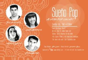 SUENO POP with Jose Sepulveda, Olivia Hernandez & More Set for Laurie Beechman, 2/2