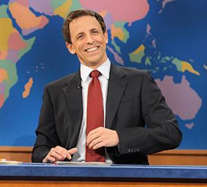 SNL's Seth Meyers Talks This Saturday's Final 'Weekend Update'