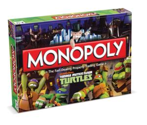 Nickelodeon & USAopoly Team on Exclusive TEENAGE MUTANT NINJA TURTLES-Themed Games