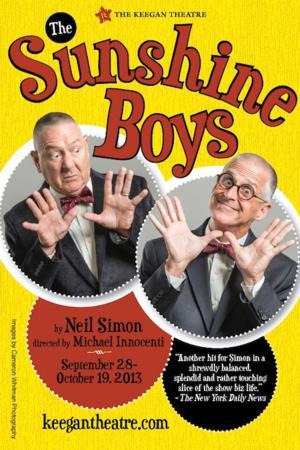 Keegan Theatre to Present THE SUNSHINE BOYS, Begin. 9/29