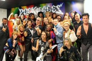 SIGHTING: Dee Snider of Twisted Sister Attends ROCK OF AGES in Las Vegas