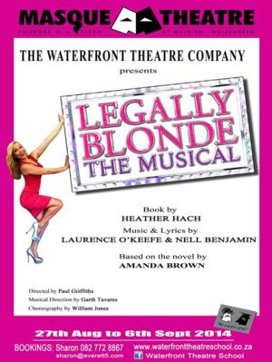 Waterfront Theatre School Stages LEGALLY BLONDE, Beg. Tonight