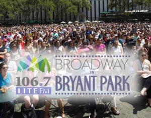 Zach Braff, Betsy Wolfe, Nick Cordero & More to Visit BROADWAY IN BRYANT PARK This Week!