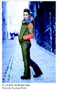 Gwen Stefani Collaborates with Burton on Outerwear