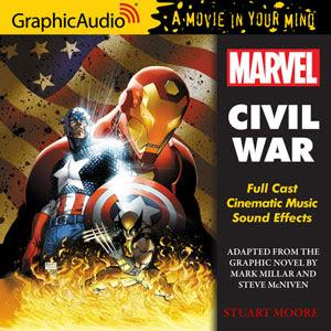 GraphicAudio's MARVEL CIVIL WAR is a Finalist for 2014 Audie Awards