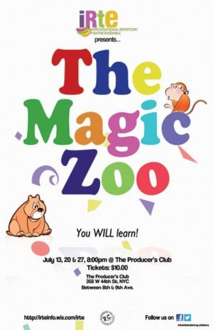 IRTE Continues its 2014 Season of Improvised Comedies with THE MAGIC ZOO