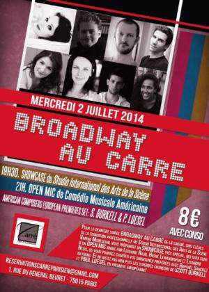Grand Finale for the BROADWAY AU CARRE Season on July 2nd