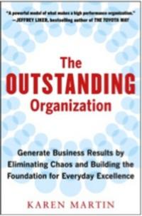 THE OUTSTANDING ORGANIZATION Receives International Recognition
