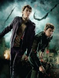 Actors James And Oliver Phelps Visit Harry Potter: The Exhibition At Discovery Times Square, 2/16-19