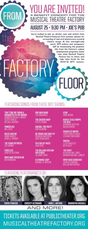 Tonya Pinkins, Christy Altomare & More Set for  FROM THE FACTORY FLOOR at Joe's Pub, 8/25