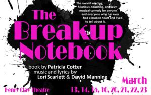 Pandora Productions to Stage 'THE BREAKUP NOTEBOOK,' 3/13-23