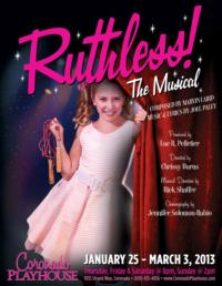 RUTHLESS! THE MUSICAL Comes to Coronado Playhouse, 1/25-3/3